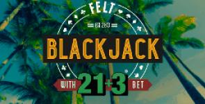 Blackjack online 21 + 3